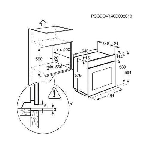 Electrolux EOA5751FOV