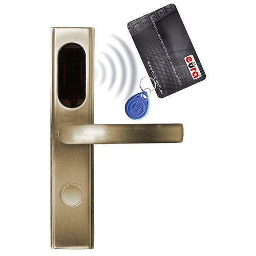 Eura-Tech Szyld zamka elektromechanicznego ''EURA'' ELH-10B9 - z czytnikiem kart zbliżeniowych (RFID), bateryjny: Kolor obudowy - mosiądz B91A711 - mosiądz - Rabaty za ilości. Szybka wysyłka. Profesjonalna pomoc techniczna. (5905548273198)