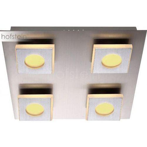 Globo lampa sufitowa led nikiel matowy, 4-punktowe - - obszar wewnętrzny - cayman - czas dostawy: od 6-10 dni roboczych marki Globo lighting