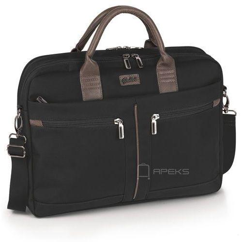 Gabol Dallas damska torba na laptop 15,6'' i tablet 10'' / Negro - Negro, kolor czarny