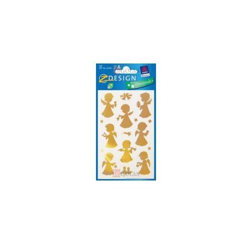 Naklejki - Złote aniołki (4004182523933)