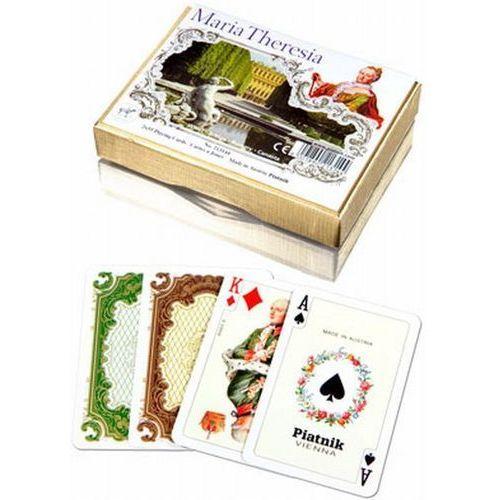 Piatnik Karty do gry 2 talie lux maria teresa (9001890213144)