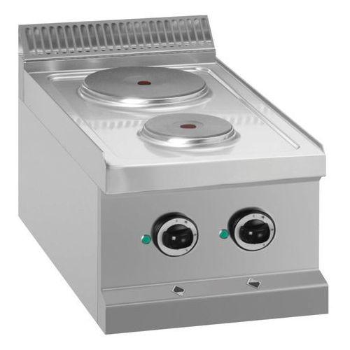 Mbm Kuchnia elektryczna nastawna 2 płytowa   4100w