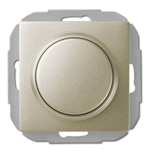 Elektro Plast SENTIA - Ściemiacz przyciskowo-obrotowy LED satynowy. Satyna Połysk - 1407-57 - produkt z kategorii- Pozostała elektryka