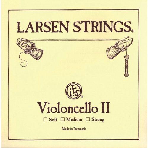 Larsen (639421) struna do wiolonczeli - D - Medium 4/4