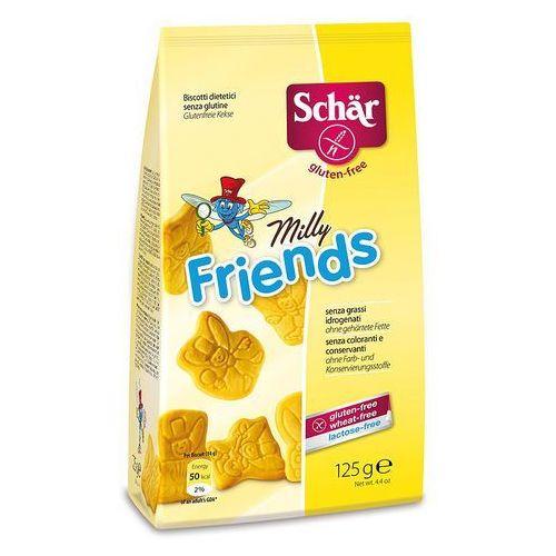 Milly friends- herbatniki bezglutenowe 125g Schar