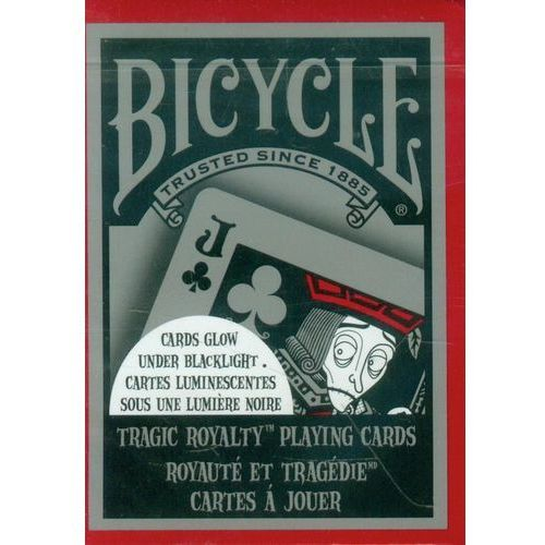 Bicycle tragic royalty talia kart marki United states playing card company