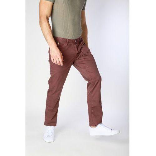 Spodnie męskie JAGGY - J1883T812-1M-80, kolor brązowy