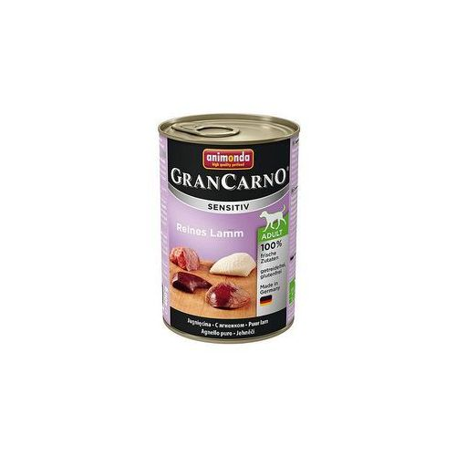 Animonda Karma dla psa GRANCARNO Sensitiv z jagnieciną 6 x 400g, 12311 (4524672)