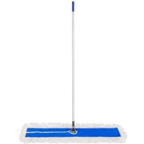 Clean Mop płaski z bawełny 110 cm dust mop do dużych powierzchni szeroki mop