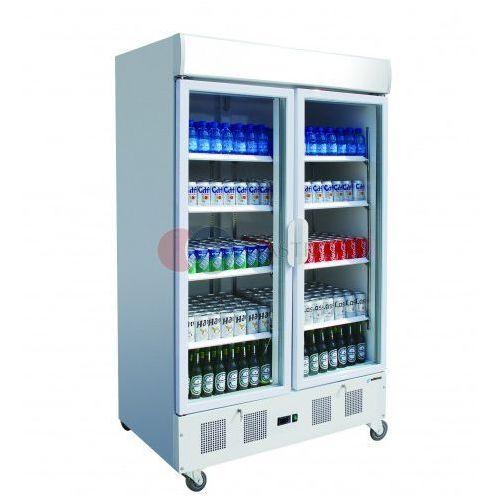 Szafa chłodnicza 2-drzwiowa przeszklona ekspozycyjna podświetlana 920 l APE-902-C