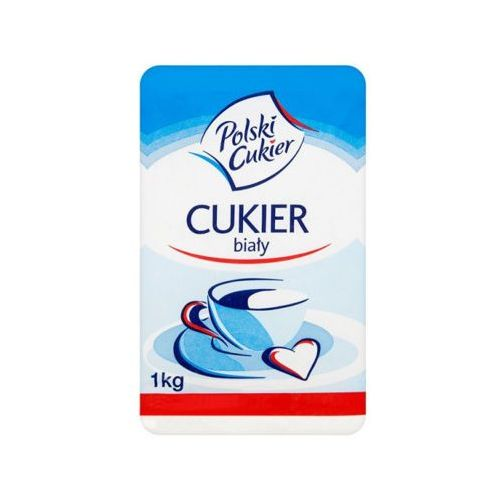 Polski cukier 1kg cukier biały marki Krajowa spółka cukrowa