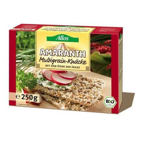 Allos Pieczywo chrupkie amarantusowe wielozbożowe bio 250g -  (4016249009786)