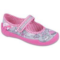 Befado buty dziewczęce blanca 27 szary (5907669015763)