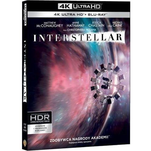 Interstellar (Blu-ray 4K) - Christopher Nolan DARMOWA DOSTAWA KIOSK RUCHU. Najniższe ceny, najlepsze promocje w sklepach, opinie.
