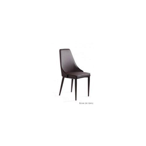 Krzesło Setina brązowe ekoskóra UNIQUE, SET-PU-3
