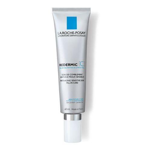 redermic [c] przeciwzmarszczkowy krem na dzień i na noc do cery normalnej i mieszanej (anti-ageing sensitive skin fill-in care) 40 ml marki La roche-posay