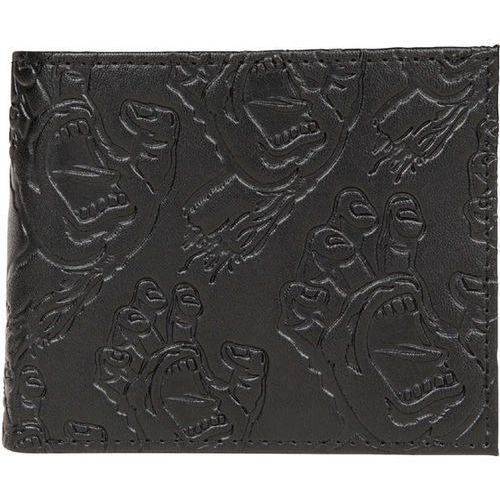 Santa cruz Portfel - multi hand bi-fold wallet black (black)