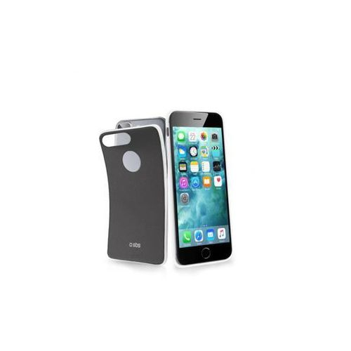 Sbs  extra slim cover slim color black for iphone 7 plus