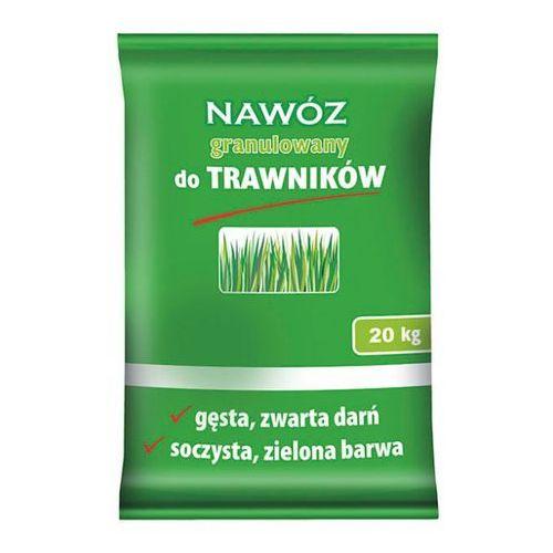 Nawóz do trawników 20 kg granulowany marki Florovit
