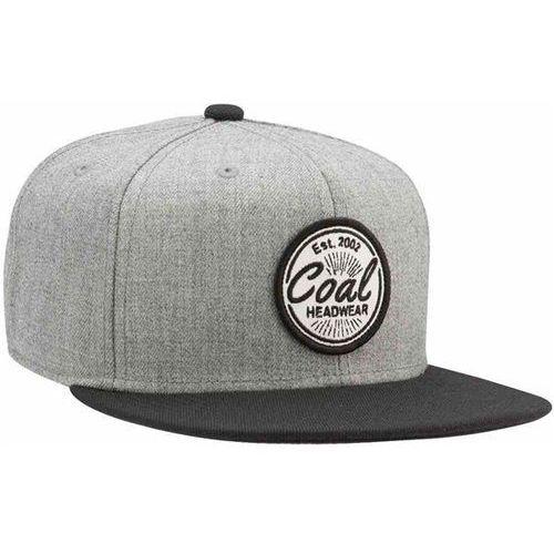 czapka z daszkiem COAL - The Classic Heather Grey (01) rozmiar: OS, kolor szary