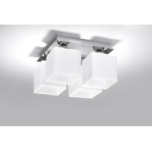 Plafon SOLLUX LIGHTING Piazza 4 Chromowy + DARMOWY TRANSPORT! (5902622427270)