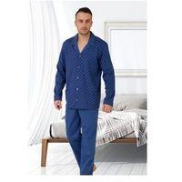 Piżama męska rozpinana big leon 502 jeans marki M-max