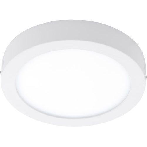 Plafon fueva 1 96253 lampa sufitowa ścienna 1x22w led ip44 biała marki Eglo