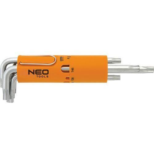 Zestaw kluczy Torx NEO 09-524 długie T10 - T50 (8 elementów)