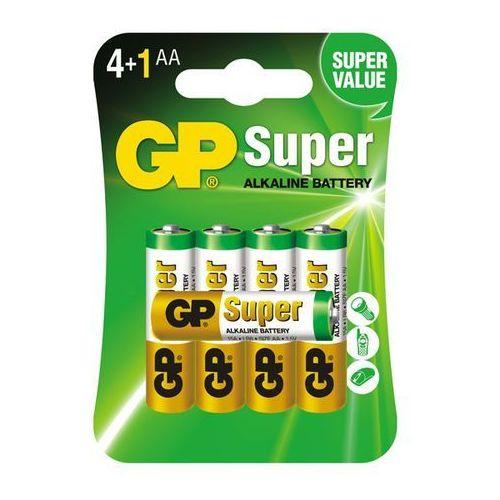5 x bateria alkaliczna GP Super Alkaline LR6/AA (bateria elektryczna)