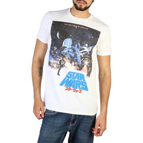 T-shirt koszulka męska STAR WARS - RDMTS026-25, kolor biały