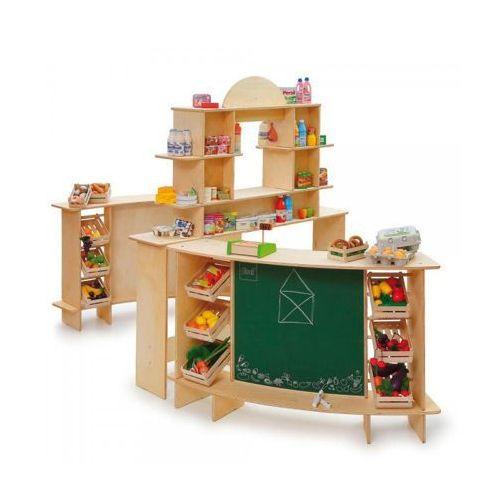 Erzi Stragan drewniany do zabaw w sklep premium xxl - zabawki dla dzieci