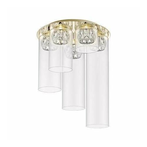 C0389-05f-f7ac gem lampa sufitowa 5-ka złoty, c0389-05f-f7ac marki Zuma line