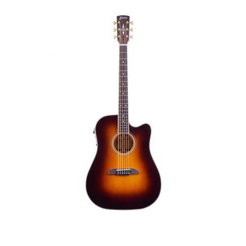 Framus FD28 N, Nashville Dreadnought, Cutaway, EQ, Vintage Transparent Sunburst High Polish gitara elektroakustyczna