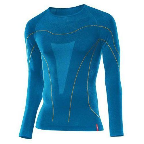Bielizna termoaktywna transtex warm seamless long sleeves niebieski 46/48 marki Löffler