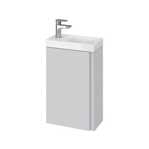CERSANIT set szafka Moduo szary połysk + umywalka Moduo 40 S801-217 (5902115744693)
