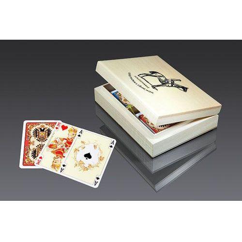 Piatnik Karty do gry 2 talie, karty lux (9001890280597)