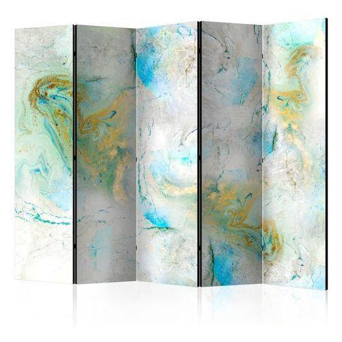 Parawan 5-częściowy - Kolorowy marmur II [Room Dividers]