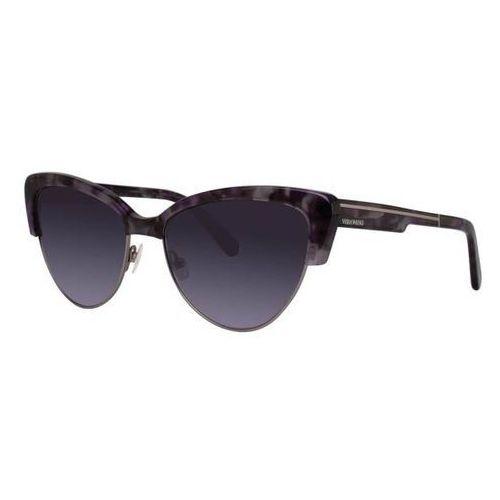 Vera wang Okulary słoneczne v443 amethyst tortoise