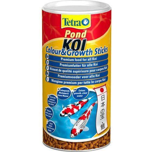 pokarm pond koi colour&growth sticks 1 l - darmowa dostawa od 95 zł! marki Tetra