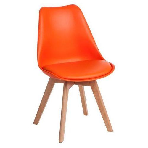 D2.design Krzesło norden cross pp pomarańcz. 1614 - pomarańczowy (5902385729338)