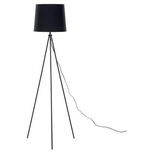 Lampa stojąca czarna - podłogowa - dekoracyjna - oświetlenie - SAMBRA, kolor Czarny