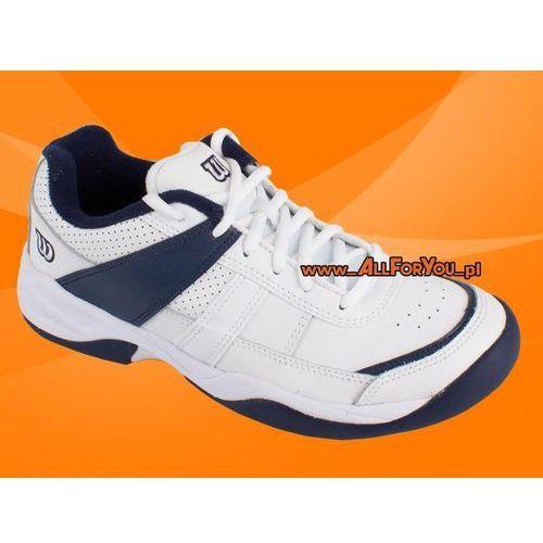 Juniorskie buty tenisowe pro staff court marki Wilson