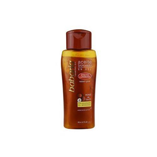 sun bronceador mieniący się olejek podkreślający opaleniznę (tanning oil) 200 ml marki Babaria