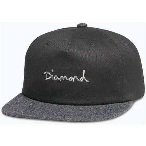 czapka z daszkiem DIAMOND - Og Script Two Tone Snapback Black (BLK) rozmiar: OS