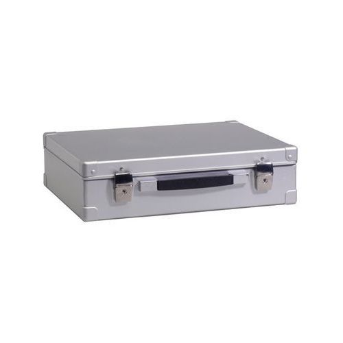 Zarges Walizka aluminiowa, poj. 20 l, zewn. dł. x szer. x wys. 480x380x125 mm, ciężar 2