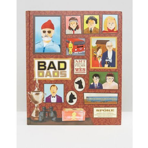 The wes anderson collection: bad dads book - multi wyprodukowany przez Books