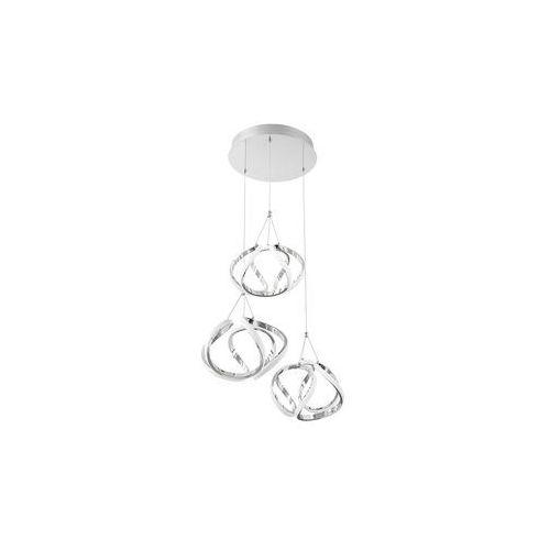 Rabalux Palmira 5771 lampa wisząca zwis 1x50W LED chrom, kolor Srebrny