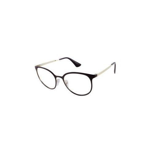 Okulary  vpr 53t 1ab-1o1 marki Prada