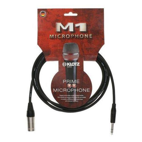 KLOTZ M1MS1K0500 kabel mikrofonowy XLR męski /duży Jack stereo 5 m
